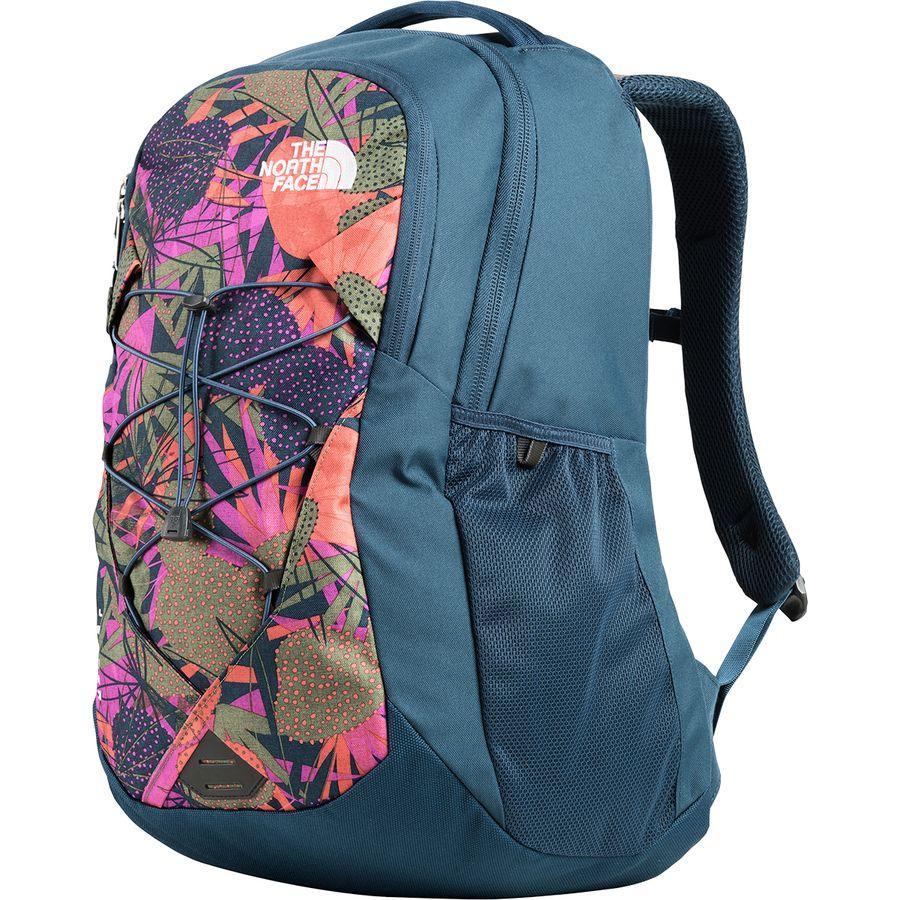 (取寄)ノースフェイス レディース ジェスター 28L バックパック The North Face Women Jester 28L Backpack Four Leaf Clover Agave Print/Blue Wing Teal