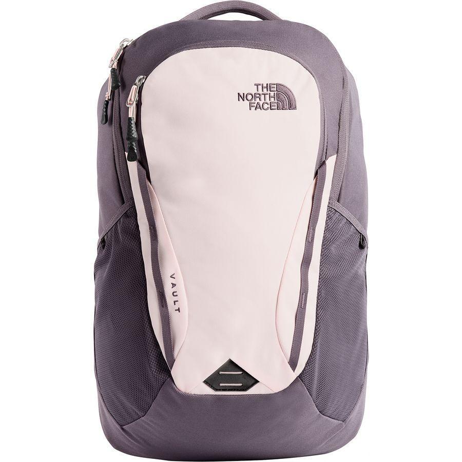 (取寄)ノースフェイス レディース ボルト 26L バックパック The North Face Women Vault 26L Backpack Rabbit Grey/Pink Salt