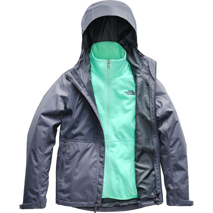 (取寄)ノースフェイス レディース アロウッド トリクラメイト フーデッド 3-In-1 ジャケット The North Face Women Arrowood Triclimate Hooded 3-In-1 Jacket Grisaille Grey/Grisaille Grey Mountain Dobby