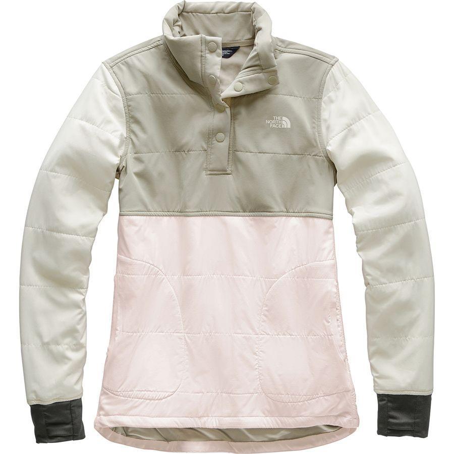 【クーポンで最大2000円OFF】(取寄)ノースフェイス レディース マウンテン トレーナー プルオーバー The North Face Women Mountain Sweatshirt Pullover Pink Salt Multi