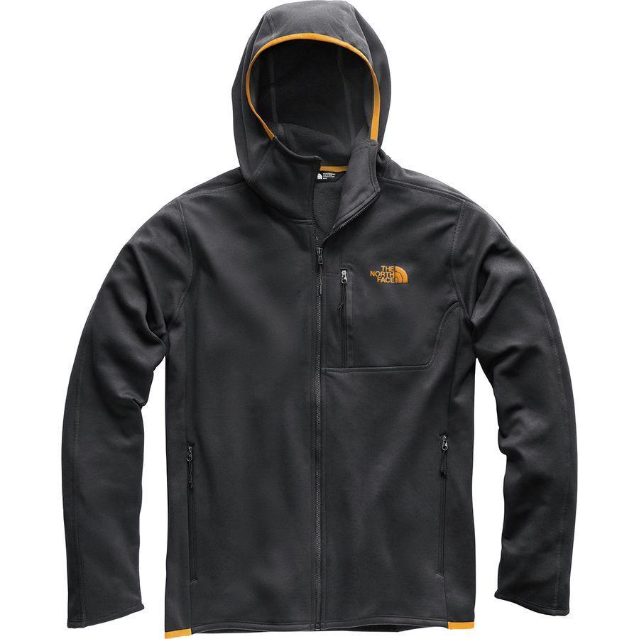 (取寄)ノースフェイス メンズ キャニオンランズ フーデッド フリース ジャケット The North Face Men's Canyonlands Hooded Fleece Jacket Tnf Dark Grey Heather