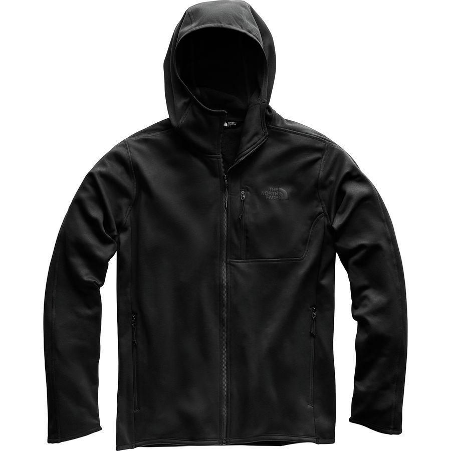 (取寄)ノースフェイス メンズ キャニオンランズ フーデッド フリース ジャケット The North Face Men's Canyonlands Hooded Fleece Jacket Tnf Black