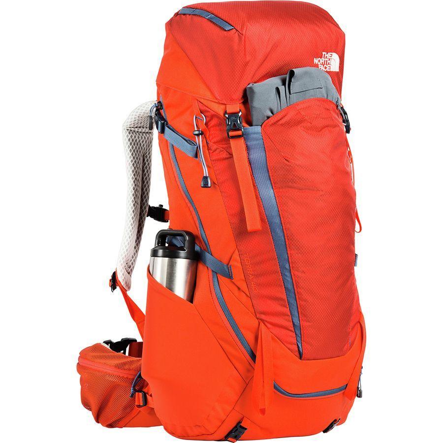 【クーポンで最大2000円OFF】(取寄)ノースフェイス テラ 40L バックパック The North Face Men's Terra 40L Backpack Zion Orange/Shady Blue