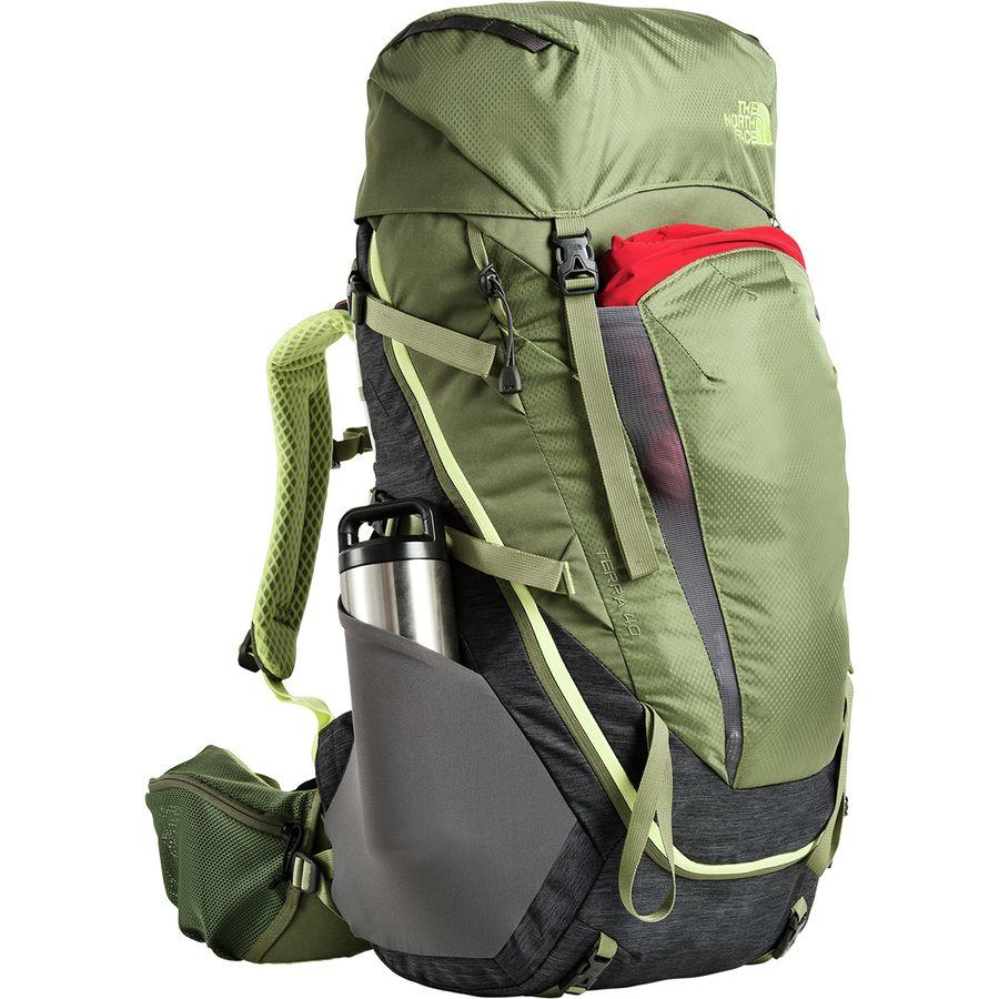 cf2ffc227 40L Leaf Four テラ The 40L Backpack Terra Tnf 通販 Face Grey ノース ...