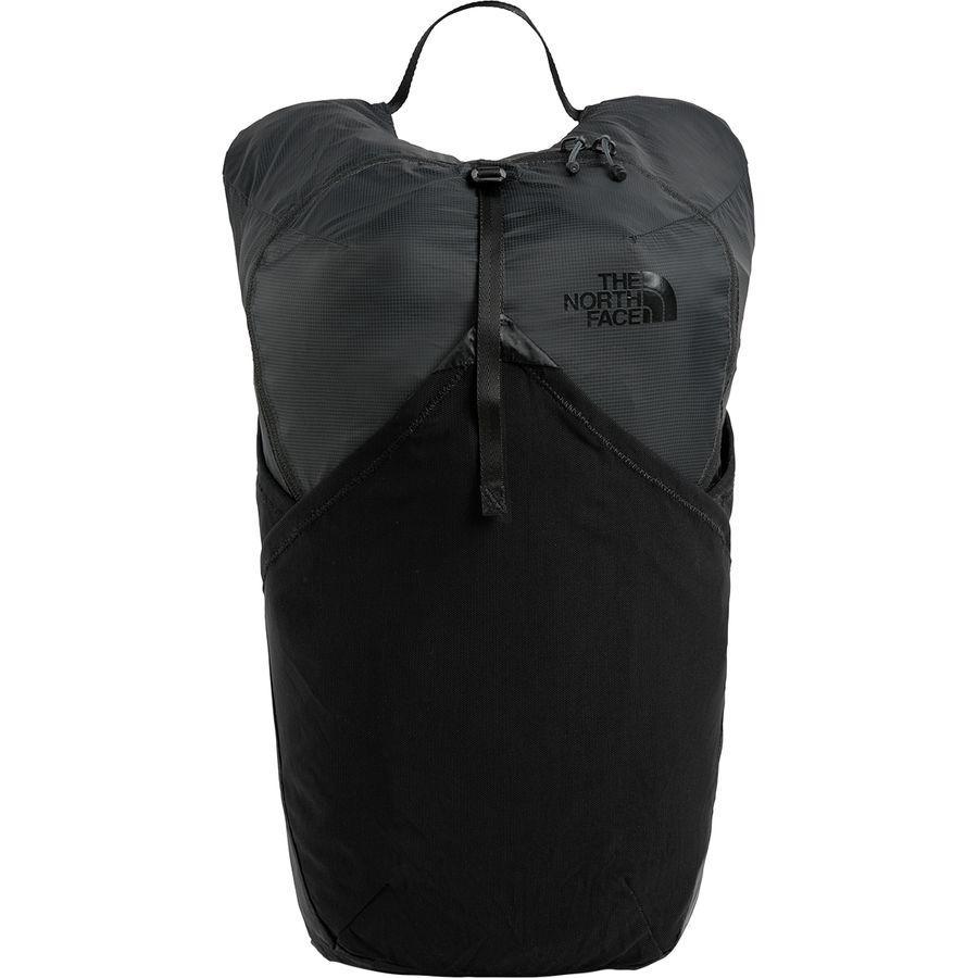 (取寄)ノースフェイス フライウェイト 17L バックパック The North Face Men's Flyweight 17L Backpack Asphalt Grey/Tnf Black