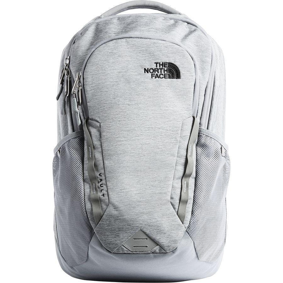 (取寄)ノースフェイス ボルト 26.5L バックパック The North Face Men's Vault 26.5L Backpack Mid Grey Dark Heather/Tnf Black