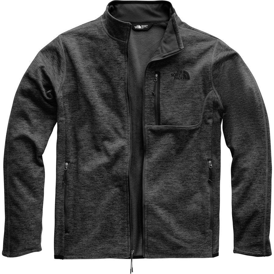 【クーポンで最大2000円OFF】(取寄)ノースフェイス メンズ キャニオンランズ フリース ジャケット The North Face Men's Canyonlands Fleece Jacket Tnf Dark Grey Heather