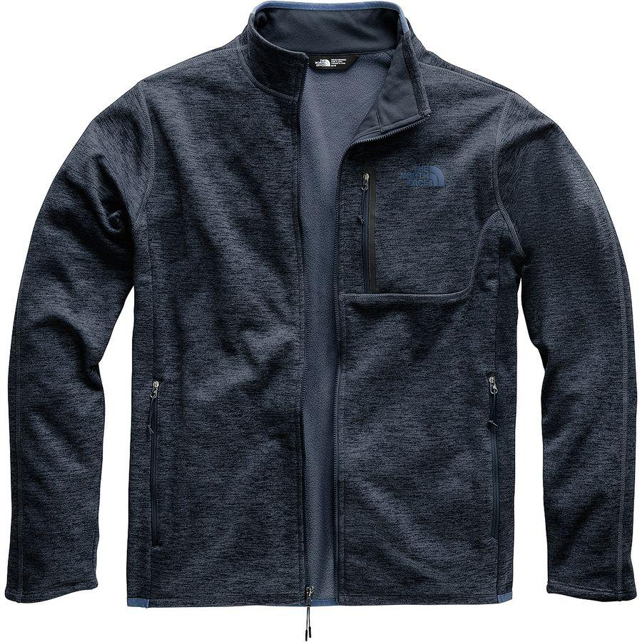 (取寄)ノースフェイス メンズ キャニオンランズ フリース ジャケット The North Face Men's Canyonlands Fleece Jacket Urban Navy Heather
