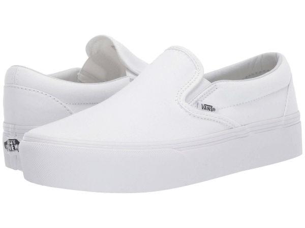 (取寄)Vans(バンズ) スリッポン クラシック スリップ ユニセックス メンズ レディース Vans Unisex Classic Slip True White