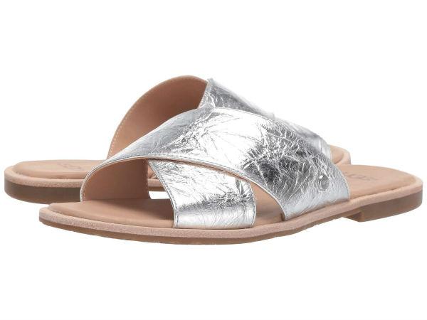 (取寄)アグ サンダル レディース ジョニ メタリック UGG Women Joni Metallic Silver