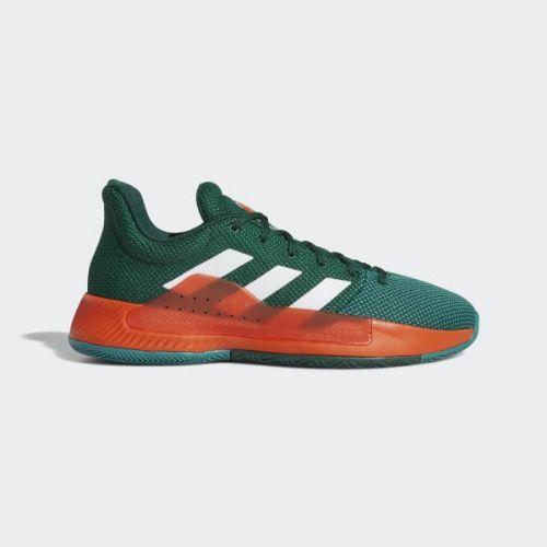 (取寄)アディダス メンズ プロ バウンス マッドネス ロウ 2019 バスケットボールシューズ adidas Men's Pro Bounce Madness Low 2019 Shoes Dark Green / Cloud White / Active Green