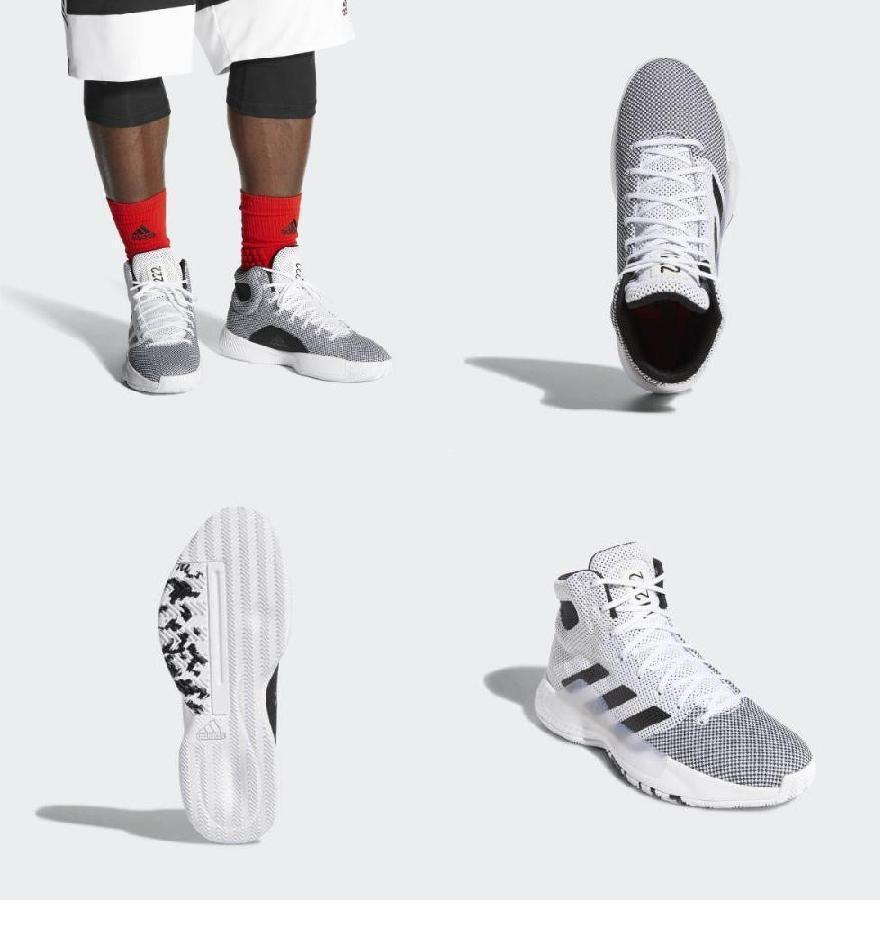 6880082f484f5 Red Solar   Black Core   White Cloud Shoes 2019 Madness Bounce Pro ...