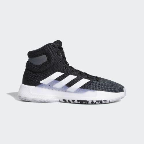 (取寄)アディダス メンズ プロ バウンス マッドネス 2019 バスケットボールシューズ adidas Men's Pro Bounce Madness 2019 Shoes Core Black / Cloud White / Grey