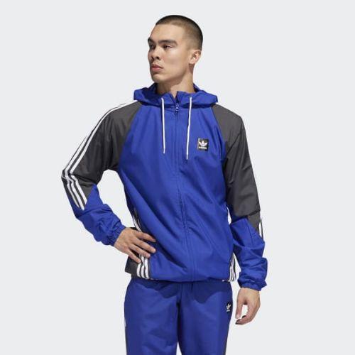 (取寄)アディダス オリジナルス メンズ インスリー ジャケット adidas originals Men's Insley Jacket Active Blue / Solid Grey / White