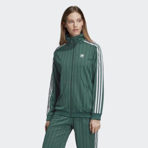 (取寄)アディダス オリジナルス レディース トラック ジャケット adidas originals Women Track Jacket Collegiate Green
