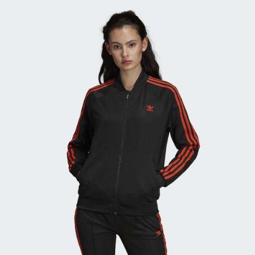 (取寄)アディダス オリジナルス レディース SST トラック ジャケット adidas originals Women SST Track Jacket Black