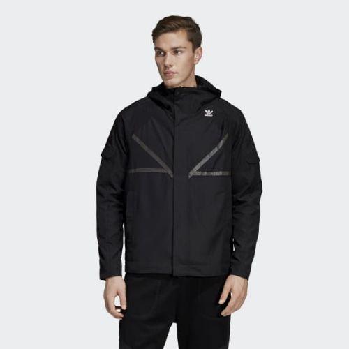 (取寄)アディダス オリジナルス メンズ アディダス PT3 Karkaj ジャケット adidas originals Men's adidas PT3 Karkaj Jacket Black