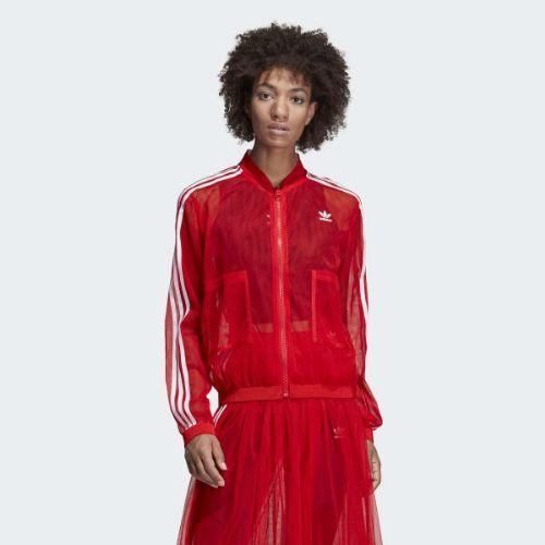 (取寄)アディダス オリジナルス レディース トラック ジャケット adidas originals Women Track Jacket Red