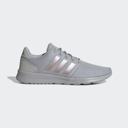 (取寄)アディダス レディース QTレーサー ランニングシューズ adidas Women QT Racer Shoes Grey / Grey / Grey