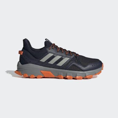 (取寄)アディダス メンズ Rockadia トレイル ランニングシューズ adidas Men's Rockadia Trail Shoes Legend Ink / Grey / Orange
