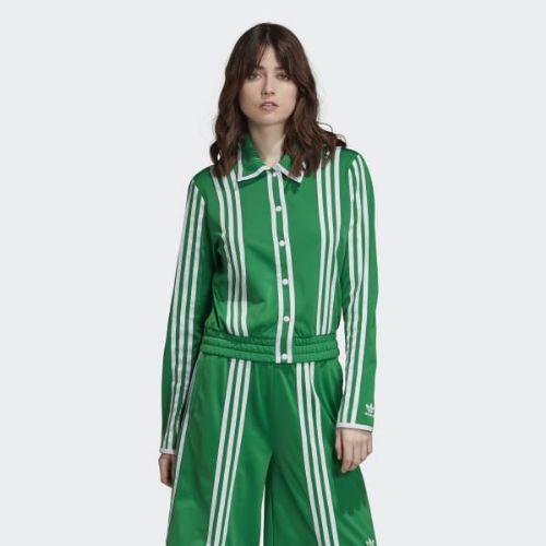 (取寄)アディダス オリジナルス レディース トラック ジャケット adidas originals Women Track Jacket Green