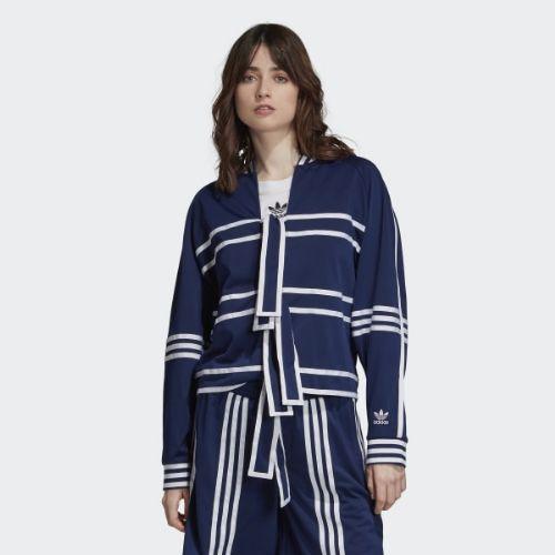 (取寄)アディダス オリジナルス レディース トラック ジャケット adidas originals Women Track Jacket Blue