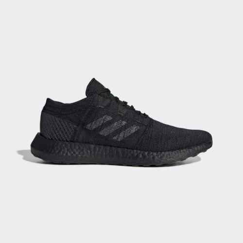【クーポンで最大2000円OFF】(取寄)アディダス メンズ ピュアブースト ゴー ランニングシューズ adidas Men's Pureboost Go Shoes Core Black / Grey / Carbon