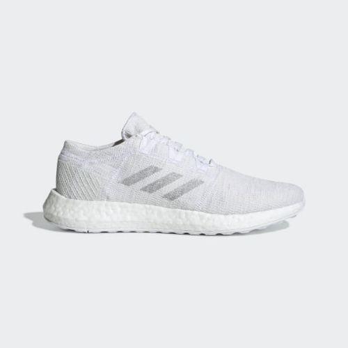 (取寄)アディダス メンズ ピュアブースト ゴー ランニングシューズ adidas Men's Pureboost Go Shoes Cloud White / Light Solid Grey / Crystal White