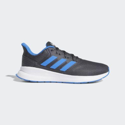 【クーポンで最大2000円OFF】(取寄)アディダス メンズ ランファルコン ランニングシューズ adidas Men's Runfalcon Shoes Grey / True Blue / Grey