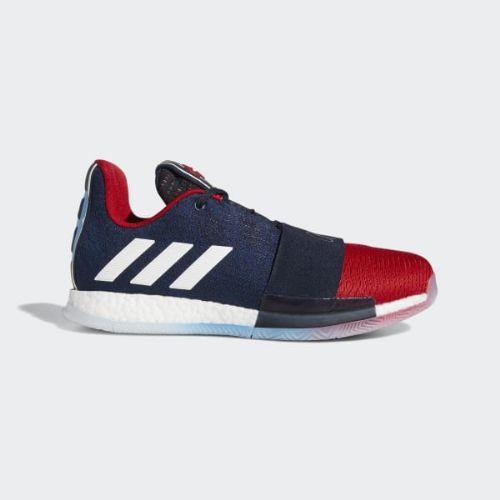(取寄)アディダス メンズ ハーデン ボリューム 3 バスケットボールシューズ adidas Men's Harden Vol. 3 Shoes Legend Ink / Collegiate Navy / Power Red