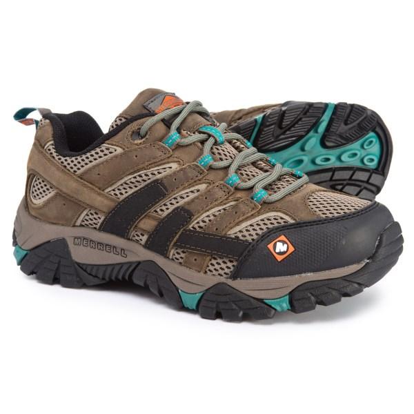(取寄)メレル レディース ワーク モアブ 2 ヴェイパー SR シューズ Merrell Women Work Moab 2 Vapor SR Shoes Boulder