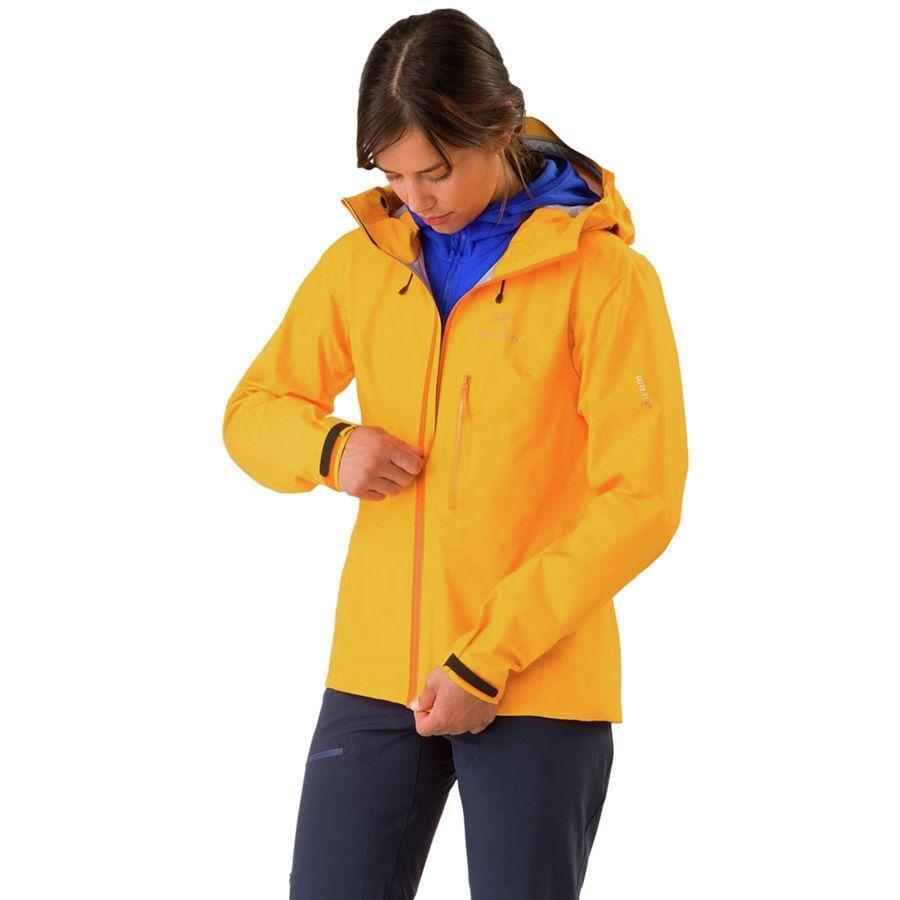 【ハイキング 登山 マウンテン アウトドア】【ウェア アウター】【山ガール ファッション ブランド】【大きいサイズ ビッグサイズ】 (取寄)アークテリクス レディース アルファ FL ジャケット Arc'teryx Women Alpha FL Jacket Dawn