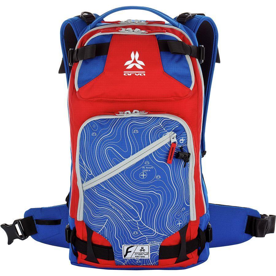 (取寄)アルバ ユニセックス カルガリー 22L バックパック ARVA Men's Calgary 22L Backpack Blue/Red 2