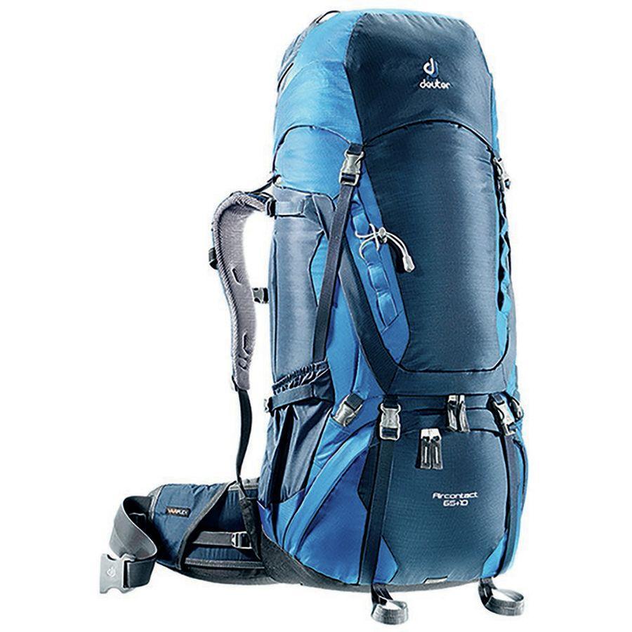 【クーポンで最大2000円OFF】(取寄)ドイター ユニセックス エアコンタクト 65+10L バックパック Deuter Men's Aircontact 65+10L Backpack Midnight/Ocean