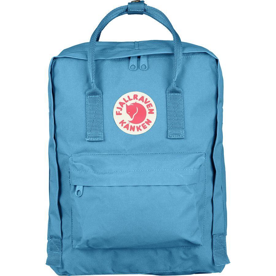 (取寄) フェールラーベン ユニセックス カンケン 16L バックパック Fjallraven Men's Kanken 16L Backpack Air Blue