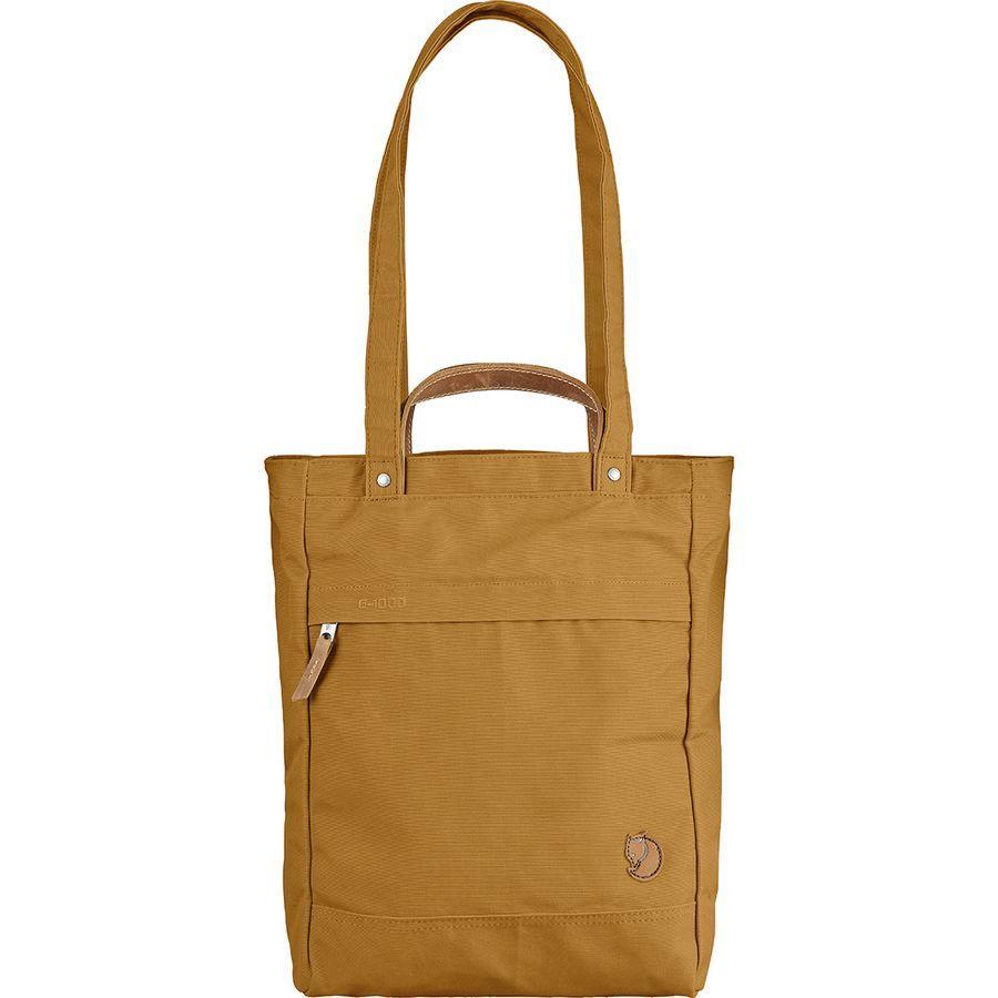 (取寄) フェールラーベン レディース スモール パック No.1バッグ トート Fjallraven Women Small Totepack No.1 Bag Acorn