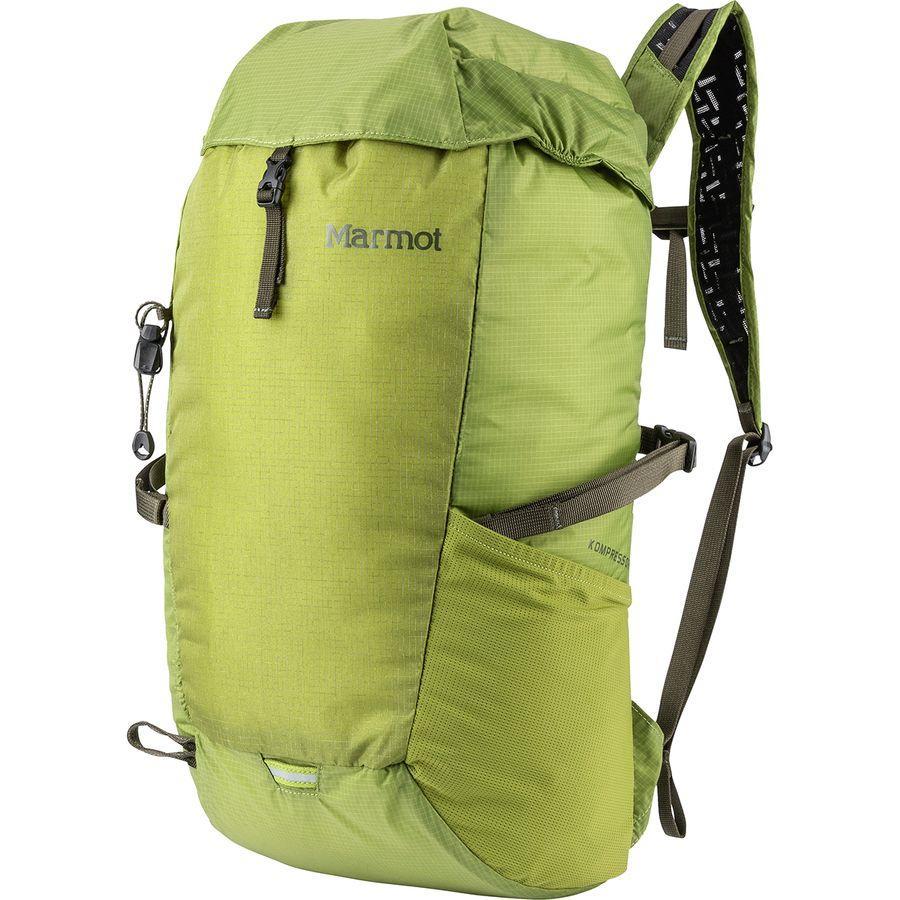 (取寄)マーモット コンプレッサー 18L バックパック Marmot Men's Kompressor 18L Backpack Cilantro/Forest Night