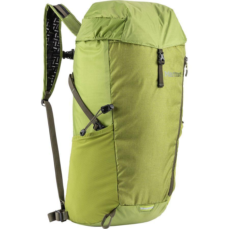 (取寄)マーモット コンプレッサー プラス 20L バックパック Marmot Men's Kompressor Plus 20L Backpack Cilantro/Forest Night