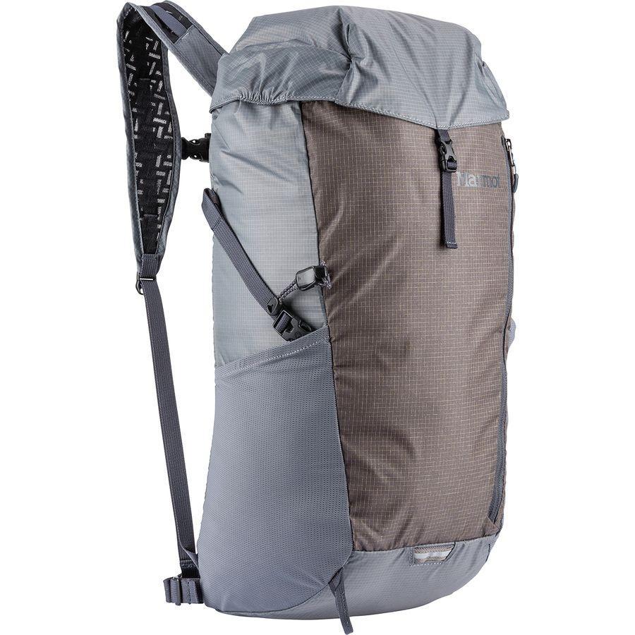 【クーポンで最大2000円OFF】(取寄)マーモット コンプレッサー プラス 20L バックパック Marmot Men's Kompressor Plus 20L Backpack Cinder/Slate Grey