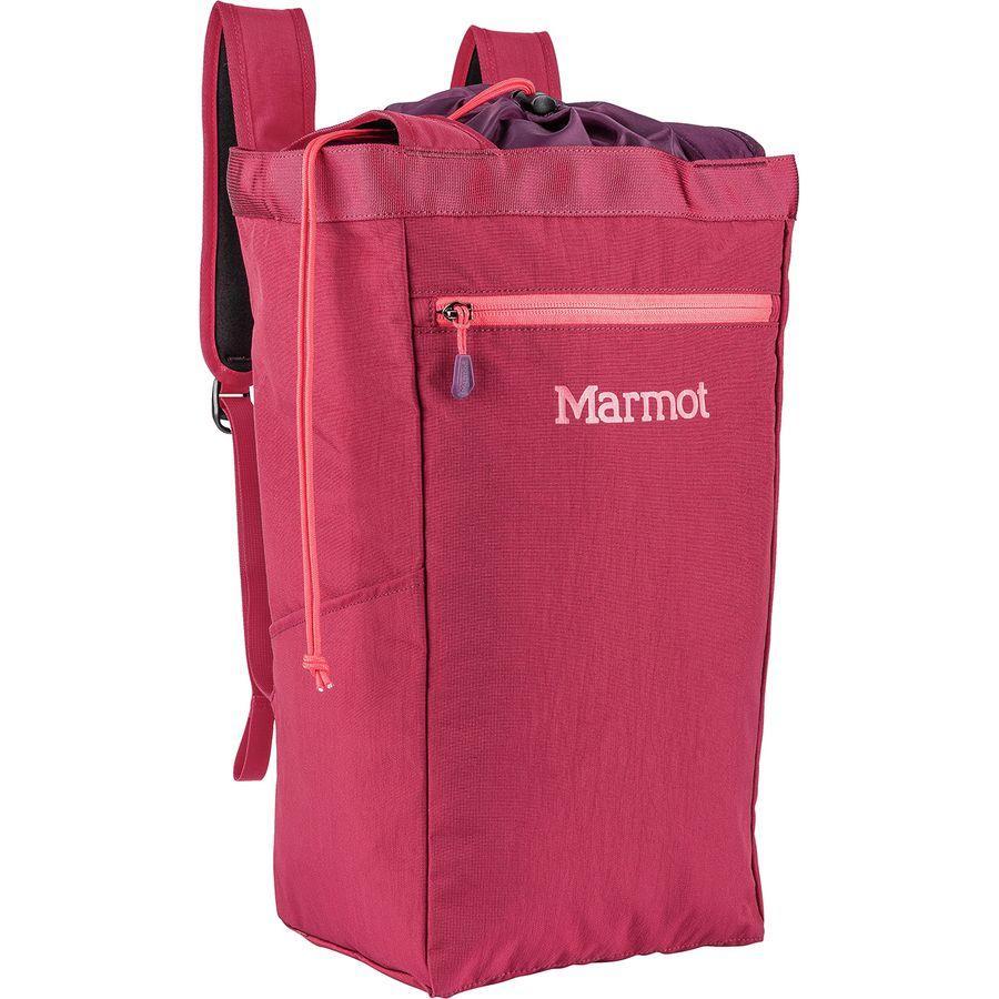 (取寄)マーモット アーバン ホウラー メディア 28L トート バックパック Marmot Men's Urban Hauler Medium 28L Tote Backpack Brick/Dark Purple