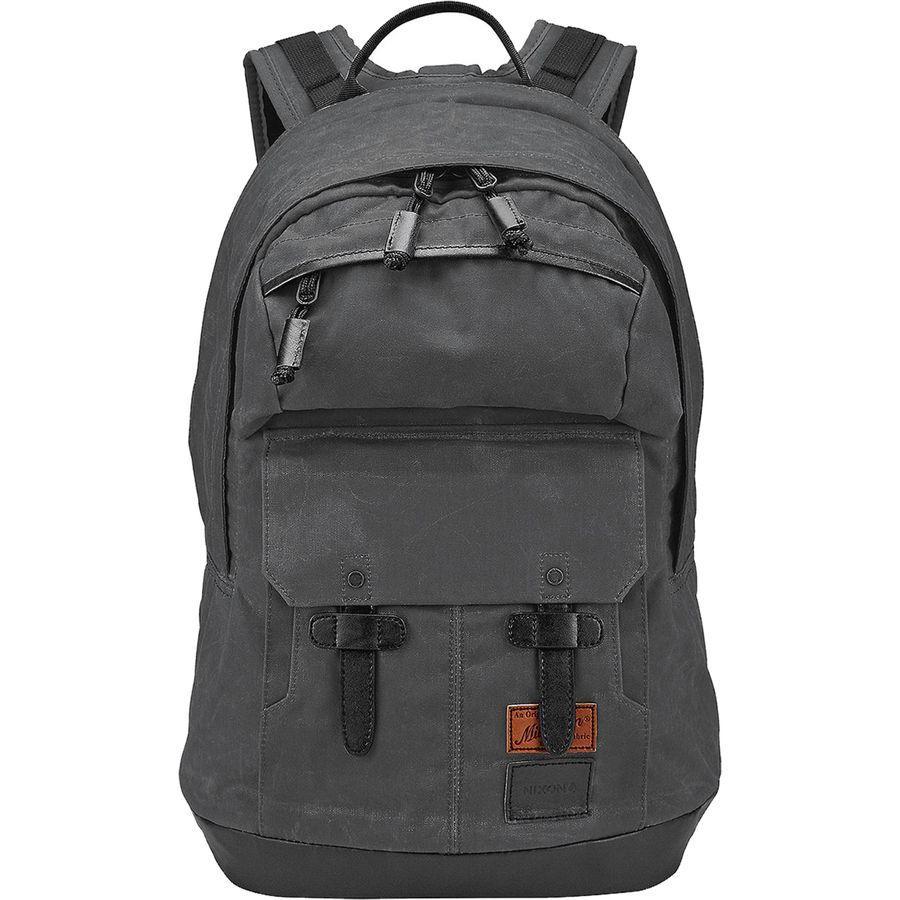 (取寄)ニクソン ユニセックス ウエスト ポート バックパック Nixon Men's West Port Backpack All Black