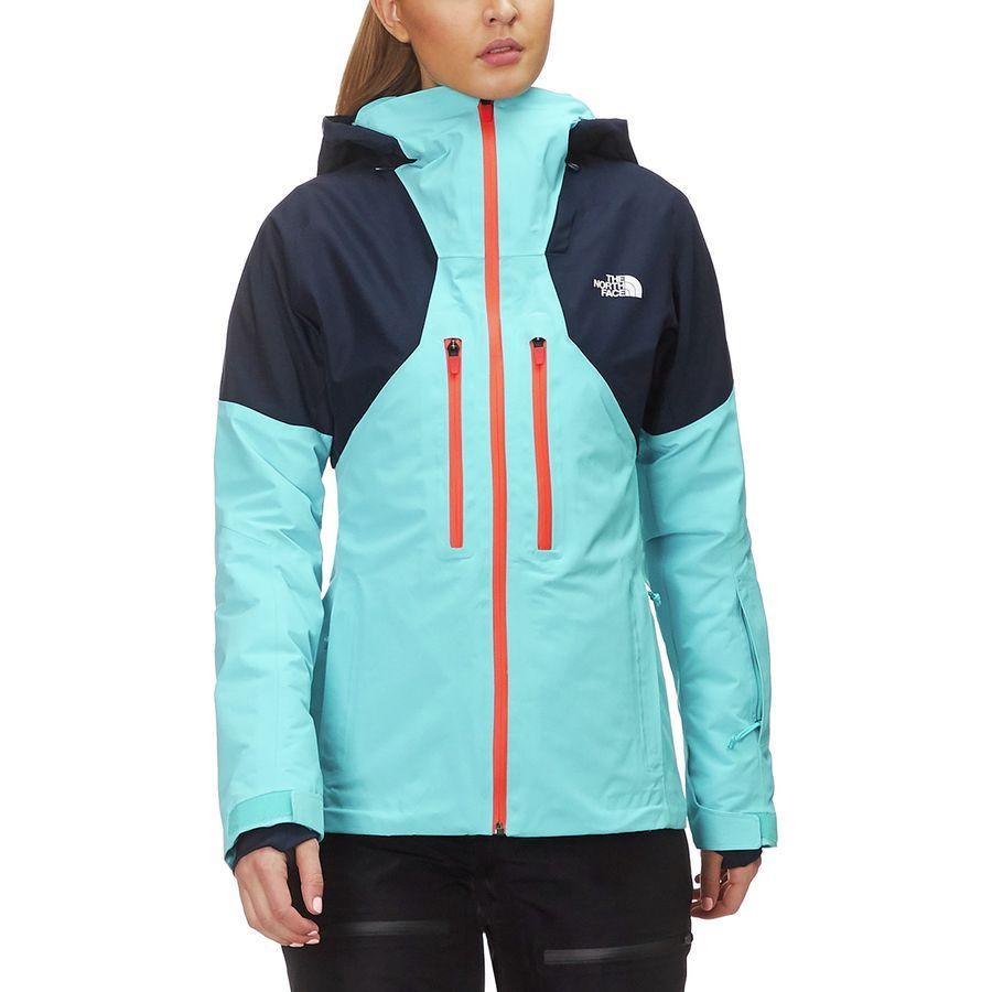 (取寄)ノースフェイス レディース パウダー ガイド フーデッド ジャケット The North Face Women Powder Guide Hooded Jacket Transantarctic Blue /Urban Navy