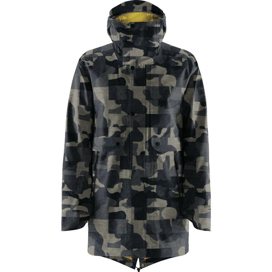 【クーポンで最大2000円OFF】(取寄)ノースフェイス メンズ Cryos 3L ビッグ Eマック Gtx ジャケット The North Face Men's Cryos 3L Big E Mac GTX Jacket Indigo Denim Jacquard