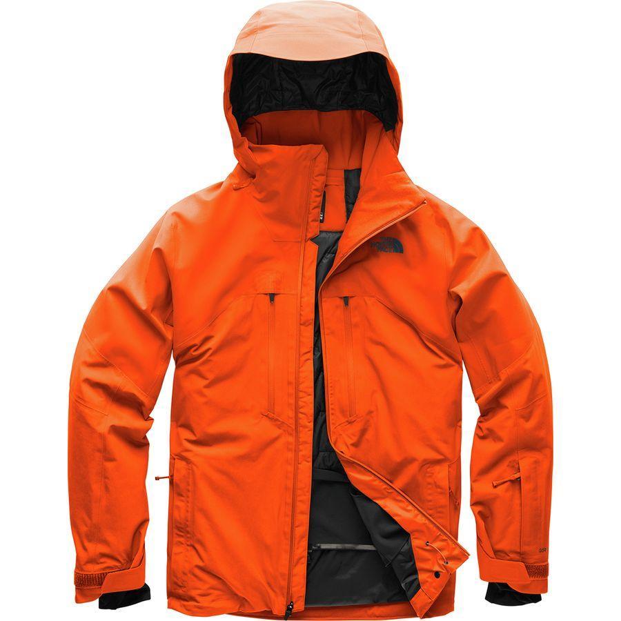 (取寄)ノースフェイス メンズ パウダー ガイド フーデッド ジャケット The North Face Men's Powder Guide Hooded Jacket Persian Orange