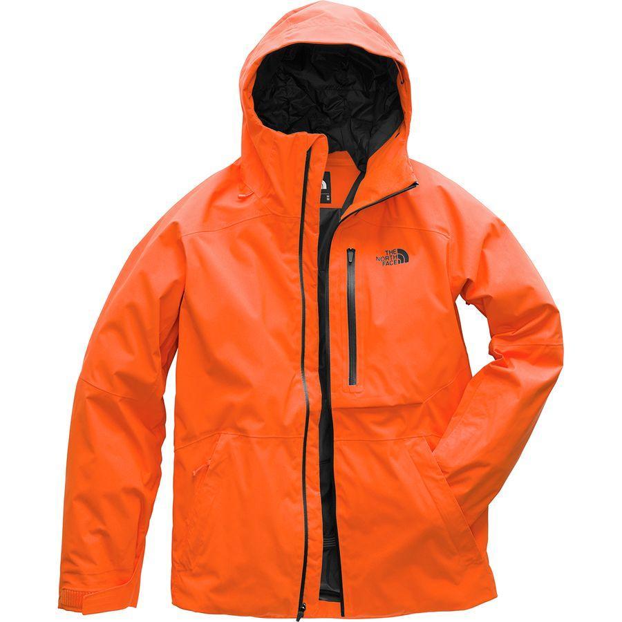 【クーポンで最大2000円OFF】(取寄)ノースフェイス メンズ シックライン ジャケット The North Face Men's Sickline Jacket Persian Orange