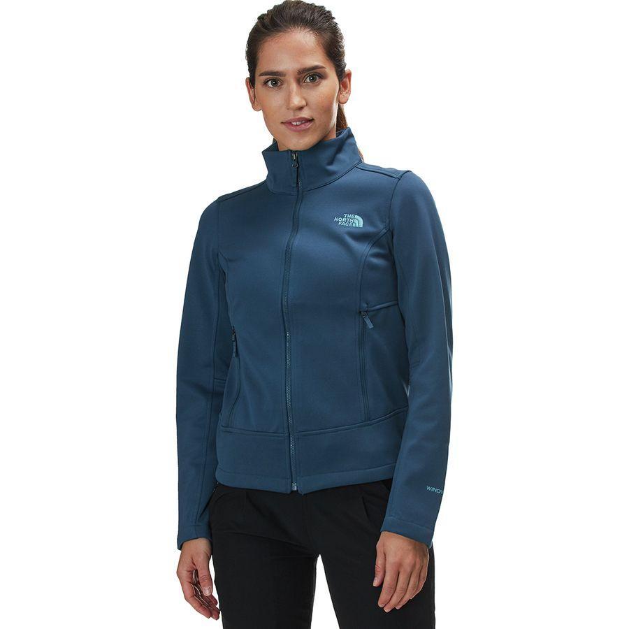 (取寄)ノースフェイス レディース アペックス Canyonwall ジャケット The North Face Women Apex Canyonwall Jacket Blue Wing Teal/Blue Wing Teal