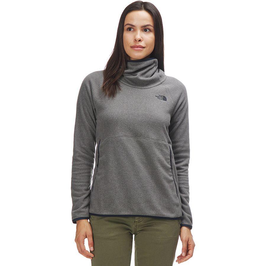 (取寄)ノースフェイス レディース グレイシャー アルパイン プルオーバー パーカー The North Face Women Glacier Alpine Hoodie Pullover Tnf Medium Grey Heather