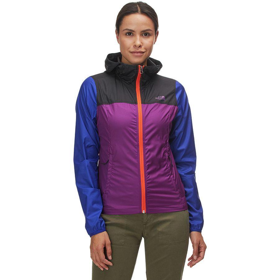 (取寄)ノースフェイス レディース サイクロン フーデッド ジャケット The North Face Women Cyclone Hooded Jacket Phlox Purple/Tnf Black