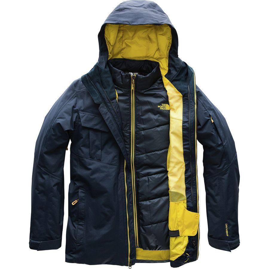 (取寄)ノースフェイス メンズ フォーバレル トリクラメイト ジャケット The North Face Men's Fourbarrel Triclimate Jacket Urban Navy