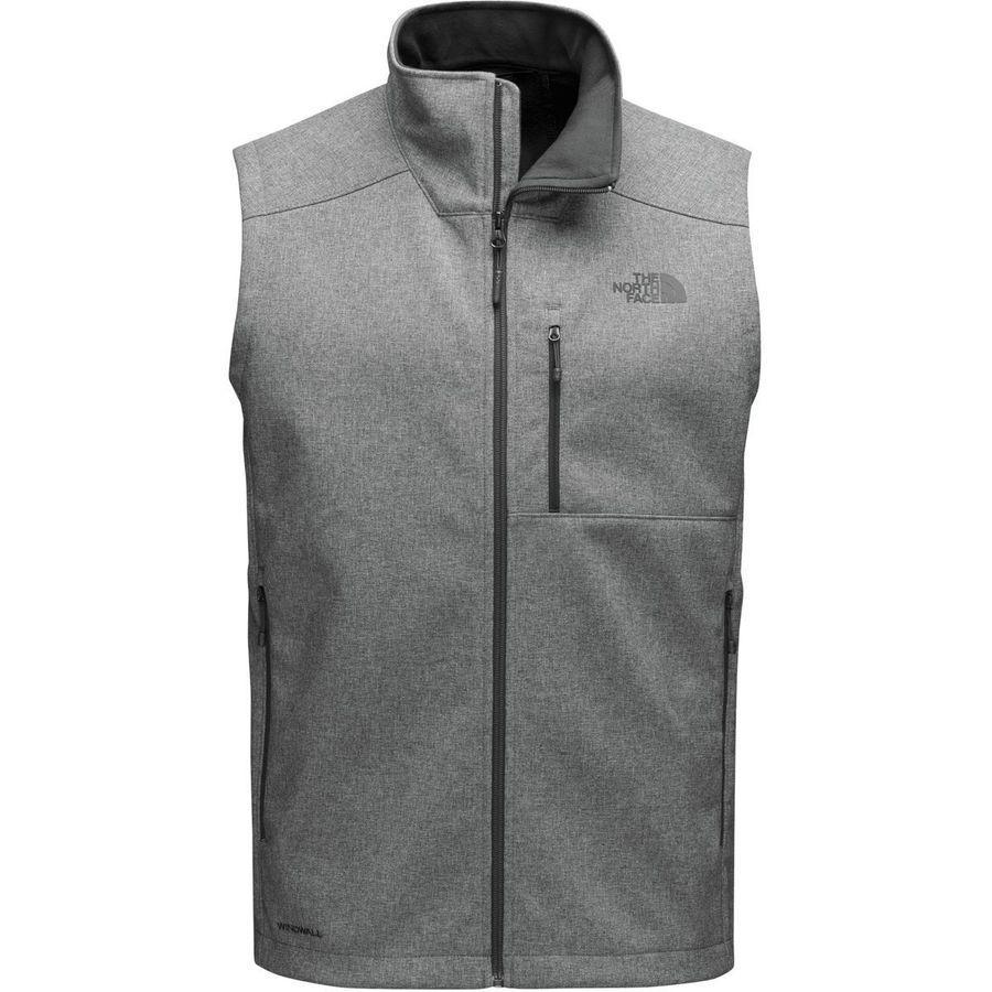 【クーポンで最大2000円OFF】(取寄)ノースフェイス メンズ アペックス バイオニック 2 ソフトシェル ベスト The North Face Men's Apex Bionic 2 Softshell Vest Tnf Medium Grey Heather